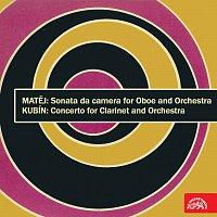 Různí interpreti – Matěj: Sonata da camera pro hoboj a orchestr - Kubín: Koncert pro klarinet a orchestr