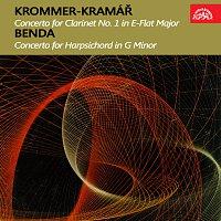 Různí interpreti – Krommer-Kramář: Koncert pro klarinet a orchestr Es dur, op. 36, Benda: Koncert pro cembalo a smyčcový orchestr g moll