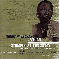 Různí interpreti – Stompin' At The Savoy: Things Have Changed, 1951-1955