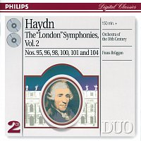 "Přední strana obalu CD Haydn: The ""London"" Symphonies, Vol.2 [2 CDs]"