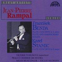 Jean Pierre Rampal, Pražský komorní orchestr – Benda František, Stamitz Carl: Koncerty pro flétnu a orchestr