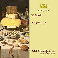 August Wenzinger, Orchestra of the Schola Cantorum Basiliensis – Telemann: Musique De Table