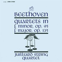 "Juilliard String Quartet, Ludwig van Beethoven, Samuel Rhodes, Joel Krosnick, Isidore Cohen, Raphael Hillyer, Claus Adam, Robert Koff – Beethoven: String Quartet No. 11 in F Minor, Op. 95 ""Serioso"" & String Quartet No. 16 in F Major, Op. 135"