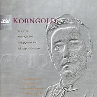 Přední strana obalu CD Korngold: Schauspiel Overture, Piano Quintet, String Quartet No.2, Tomorrow