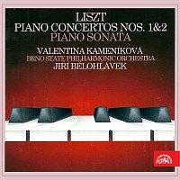Valentina Kameníková, Filharmonie Brno, Jiří Bělohlávek – Liszt : Klavírní koncert č.1, č. 2, Sonata