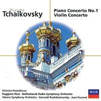 Victoria Postnikova, Wiener Symphoniker, Gennadi Rozhdestvensky, Ruggiero Ricci – Tchaikovsky: Piano Concerto No.1; Violin Concerto