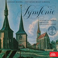 Přední strana obalu CD Antonín Rejcha, Jan Václav Hugo Voříšek Symfonie