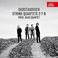 Přední strana obalu CD Šostakovič: Smyčcové kvartety č. 2, 7, 8
