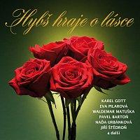 Přední strana obalu CD Hybš hraje o lásce