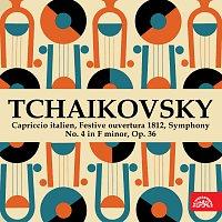 Různí interpreti – Čajkovkij: Capriccio italien, Slavnostní předehra 1812, Symfonie č. 4 f moll, op. 36