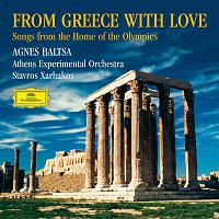 Přední strana obalu CD From Greece with Love. Songs from the Home of the Olympics