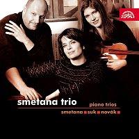 Přední strana obalu CD Smetana, Suk & Novák: Trio g moll, Trio c moll, Elegie, Baladické trio