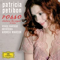 Přední strana obalu CD rosso - italian baroque arias