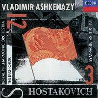 Přední strana obalu CD Shostakovich: Symphonies Nos. 3 & 12