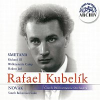 Přední strana obalu CD Smetana, Novák: Richard III., Valdštýnův tábor, Hakon Jarl - Jihočeská suita