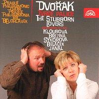 Přední strana obalu CD Dvořák: Tvrdé palice. Komická opera o 1 dějství