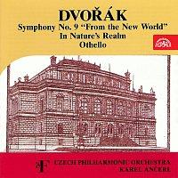 """Přední strana obalu CD Dvořák: Symfonie č. 9 """"Z Nového světa"""", V přírodě, Othello"""