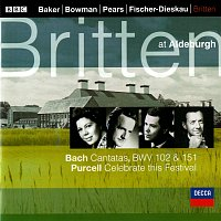 Benjamin Britten, Dame Janet Baker, James Bowman, Sir Peter Pears – Bach, J.S.: Cantatas Nos. 102 & 151 / Purcell: Celebrate this Festival