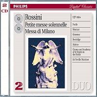 Nuccia Focile, Susanne Mentzer, Raúl Gimenez, Simone Alaimo, Ian Bostridge – Rossini: Petite Messe Solenelle/Messa di Milano [2 CDs]
