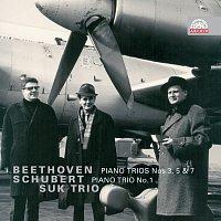 Přední strana obalu CD Beethoven & Schubert: Klavírní tria