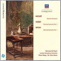 Gervase de Peyer, London Symphony Orchestra, Sir Colin Davis – Mozart: Clarinet Concerto; Weber: Clarinet Concerto No.2; Spohr: Clarinet Concerto No.1