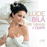 Přední strana obalu CD Bílé Vánoce v Opeře LIVE