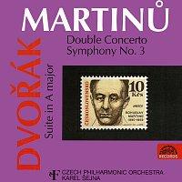 Česká filharmonie, Karel Šejna – Martinů, Dvořák: Dvojkoncert, Symfonie č. 3 - Suita A dur