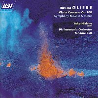 Yuko Nishino, Philharmonia Orchestra, Yondani Butt – Gliere: Violin Concerto in G minor; Symphony No.2 in C minor