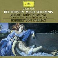 Berliner Philharmoniker, Wiener Philharmoniker, Herbert von Karajan, Lella Cuberli – Beethoven: Missa Solemnis / Mozart, W.A.: Kronungsmesse - Coronation Mass - Messe du Couronnement