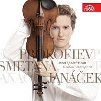 Přední strana obalu CD Janáček, Smetana, Prokofjev