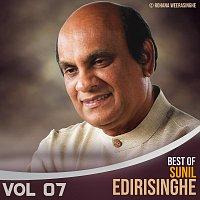 Přední strana obalu CD Best of Sunil Edirisinghe, Vol. 07