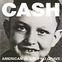 Přední strana obalu CD American VI:  Ain't No Grave