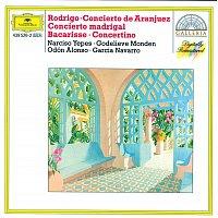 Narciso Yepes, Godelieve Monden, Orquesta Sinfónica de Radiotelevisión Espanola – Rodrigo: Concierto de Aranjuez; Concierto madrigal / Bacarisse: Concertino