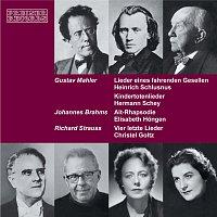 Heinrich Schlusnus, Hermann Schey, Elisabeth Hongen, Christel Goltz – Lieder von Gustav Mahler, Johannes Brahms und Richard Strauss