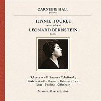 Jennie Tourel and Leonard Bernstein at Carnegie Hall, New York City, March 2, 1969