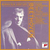 "Rudolf Serkin, New York Philharmonic, Leonard Bernstein – Beethoven:  Piano Concertos Nos. 3 & 5 ""Emperor"""