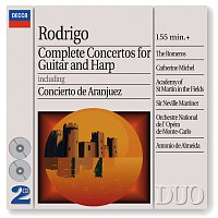 Rodrigo: Complete Concertos for Guitar & Harp [2 CDs]