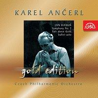 Přední strana obalu CD Ančerl Gold Edition 41. Hanuš: Sůl nad zlato, Symfonie č. 2