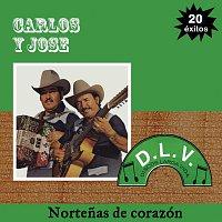 Přední strana obalu CD Nortenas De Corazón 20 Exitos