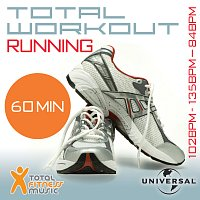 Různí interpreti – Total Workout Running 102 - 135 - 84bpm Ideal For Jogging, Running, Treadmill & General Fitness