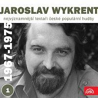 Přední strana obalu CD Nejvýznamnější textaři české populární hudby Jaroslav Wykrent 1 (1967- 1975)