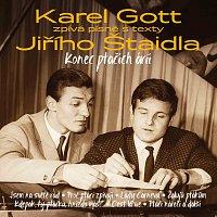 Přední strana obalu CD Konec ptačích árií - Karel Gott zpívá písně s texty Jiřího Štaidla - Zlatá kolekce