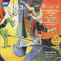 Přední strana obalu CD Bloch: Suite hebraique; Suite for viola and piano; Concertino
