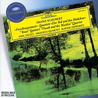 """Přední strana obalu CD Schubert: Piano Quintet """"The Trout""""; String Quartet """"Death and the Maiden"""""""