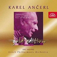 Přední strana obalu CD Ančerl Gold Edition 16. Prokofjev: Romeo a Julie, Péťa a vlk