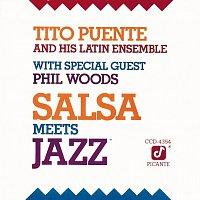 Přední strana obalu CD Salsa Meets Jazz