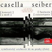 André Gertler, Symfonický orchestr hl. m. Prahy FOK/Václav Smetáček – Seiber: Fantasia concertante, Casella: Koncert a moll