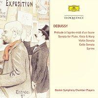Boston Symphony Chamber Players – Debussy: Prélude a l'apres-midi d'un faune; Sonata For Flute, Viola & Harp