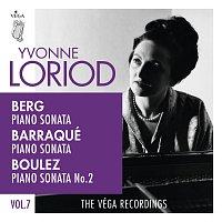 Yvonne Loriod – Berg, Barraqué, Boulez: Piano sonatas