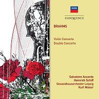 Salvatore Accardo, Heinrich Schiff, Gewandhausorchester Leipzig, Kurt Masur – Brahms: Violin Concerto; Double Concerto